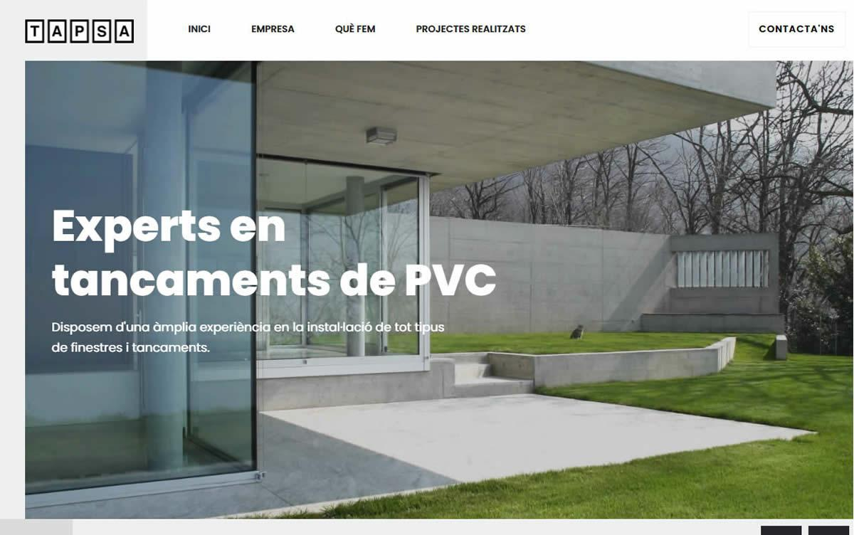 This week we have completed the new website of www.tapsapvc.com